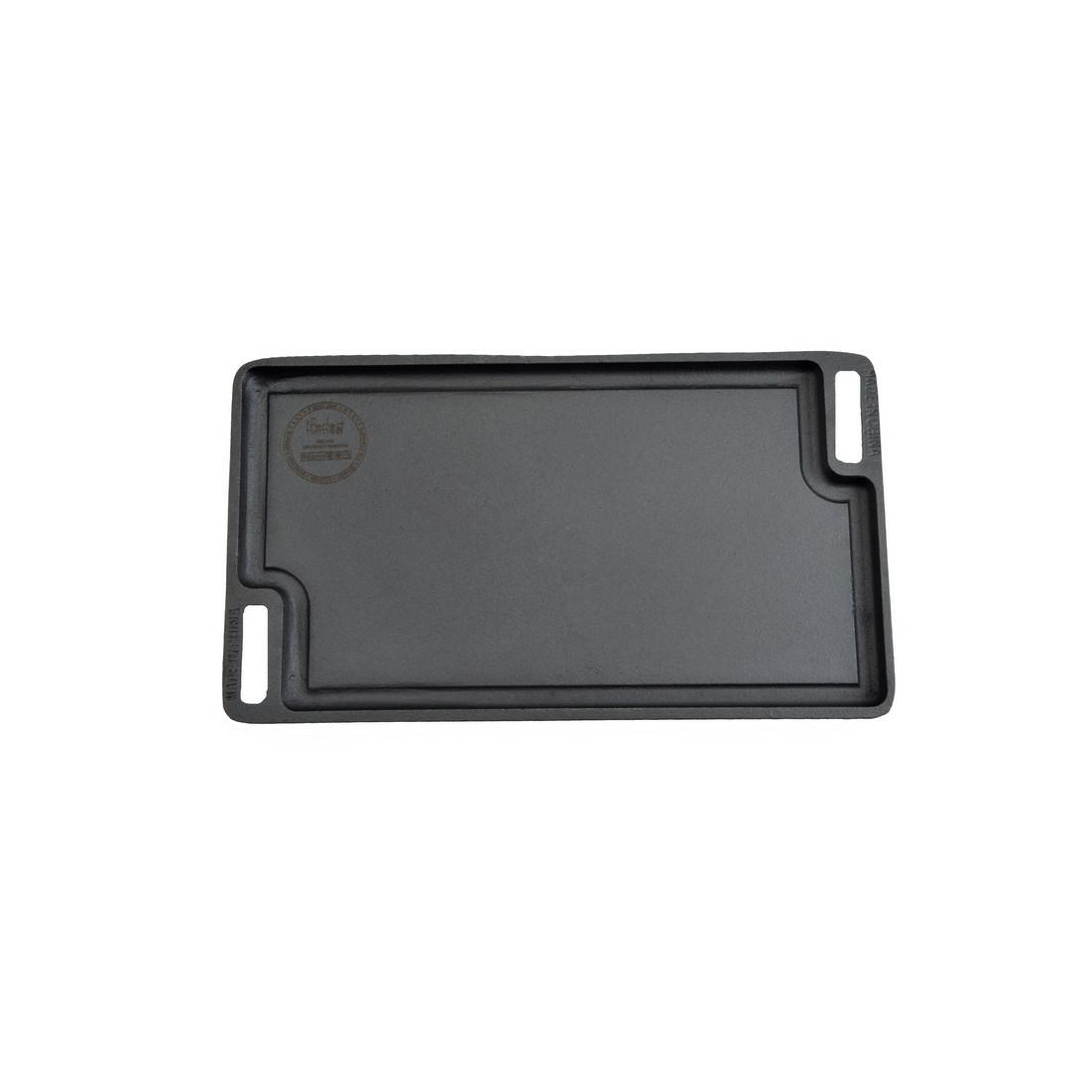 Öntöttvas grill lap forgatható 45*25 cm 2 oldalas