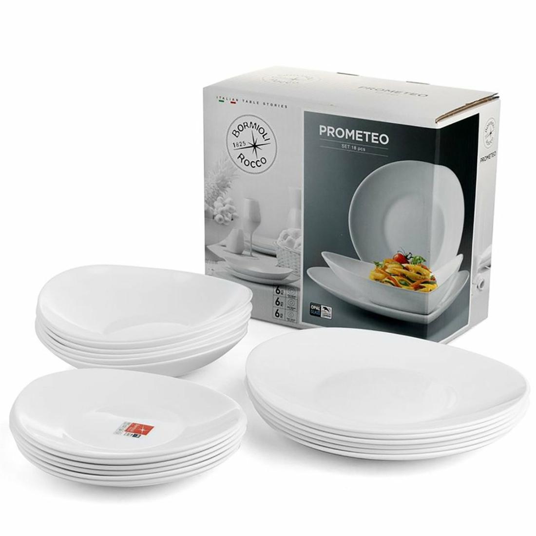 Bormioli Rocco Prometeo 18 részes étkészlet