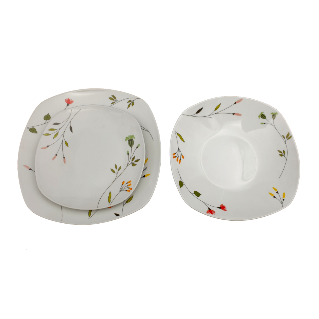 HomeFavour Apró virágos 18 részes porcelán étkészlet