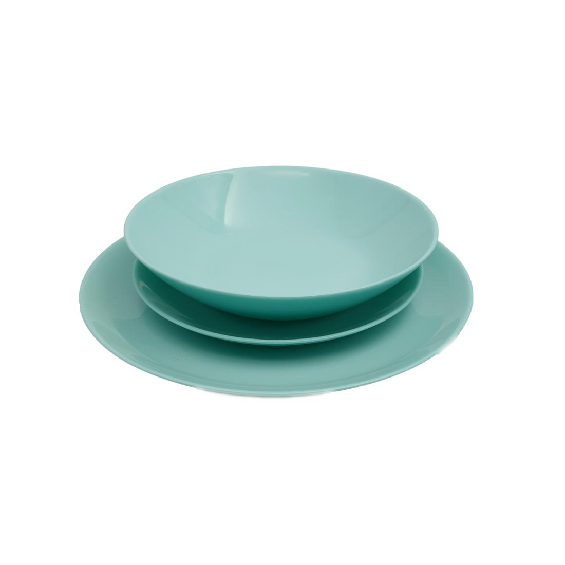 Luminarc Diwali Light Turquoise 18 részes étkészlet