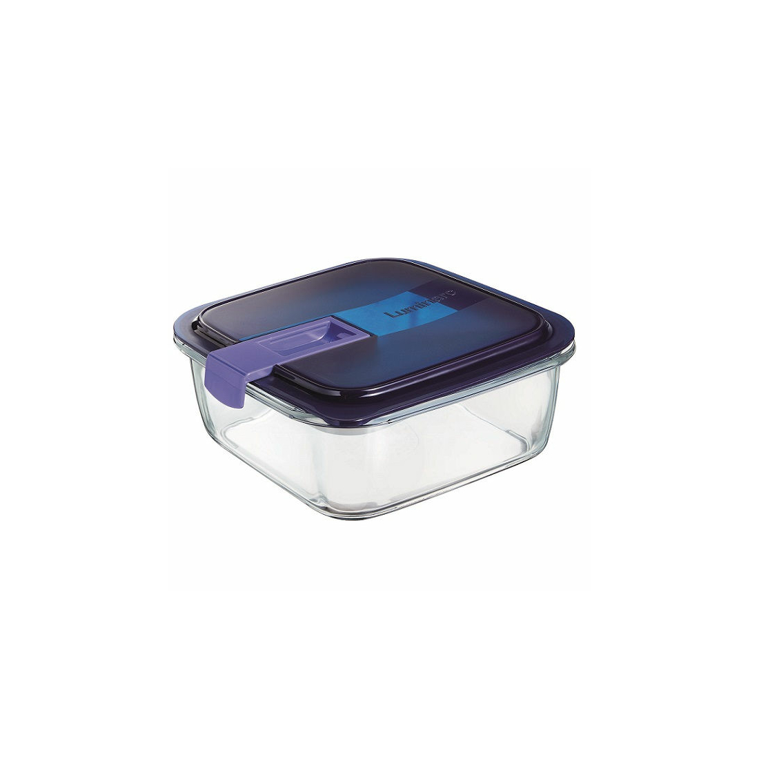 Luminarc Easy Box kocka tároló doboz 17x17x7 cm 122 cl