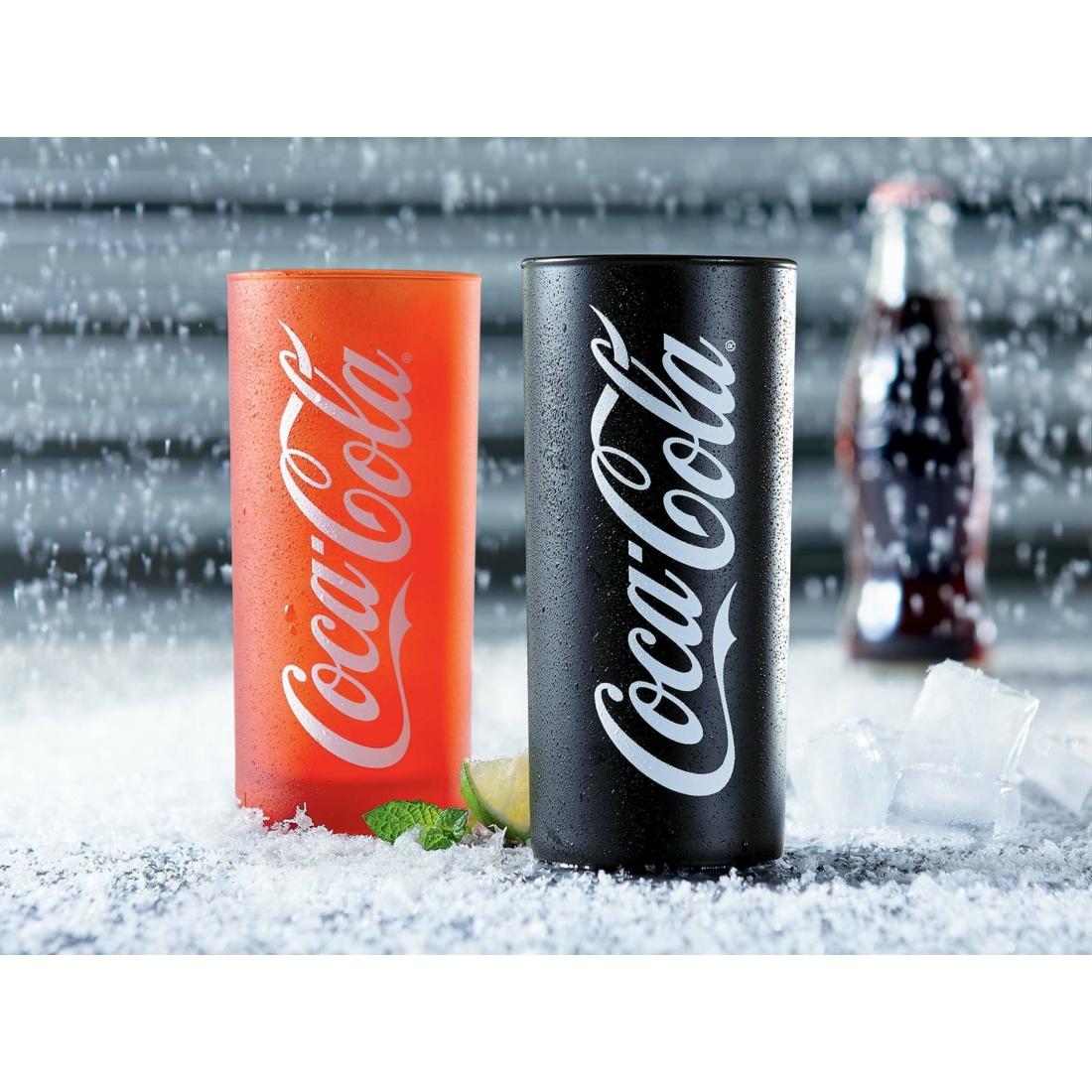 Coca-Cola Frozen Black & Red pohár szett