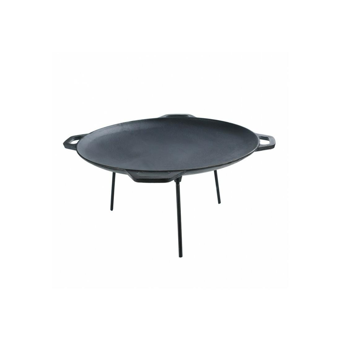 Öntöttvas grill sütőtárcsa 50cm 4füllel