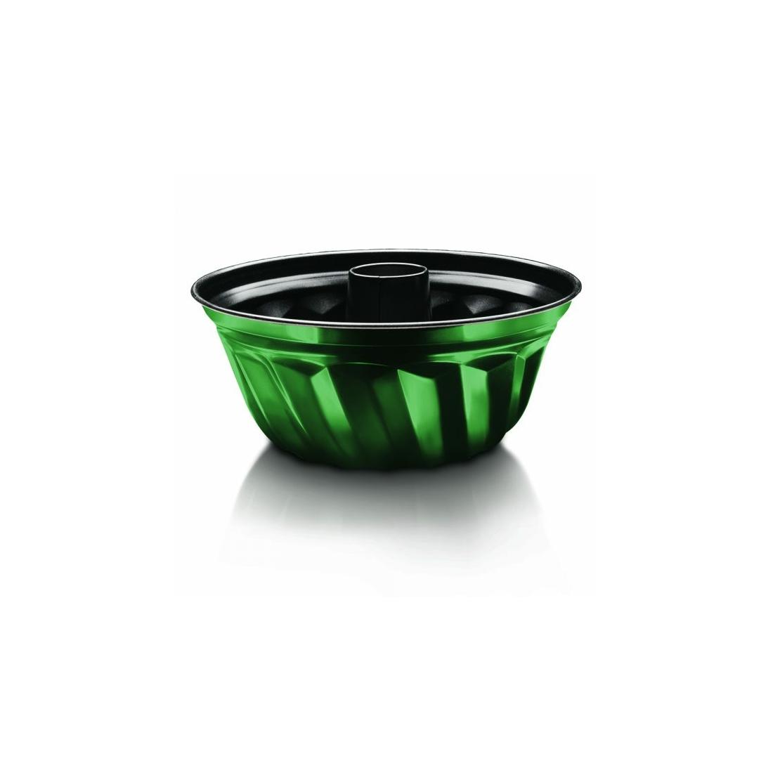 Berlinger Haus Emerald Collection kuglófsütő titán bevonattal, metál külső bevonattal, smaragdzöld