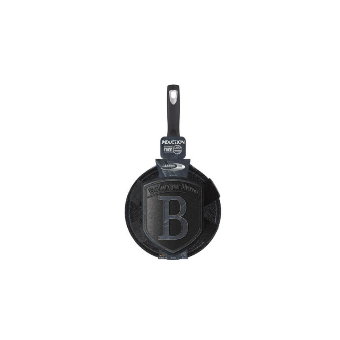 Berlinger Haus Carbon Pro Collection palacsintasütő márvány bevonattal, metál külső bevonattal