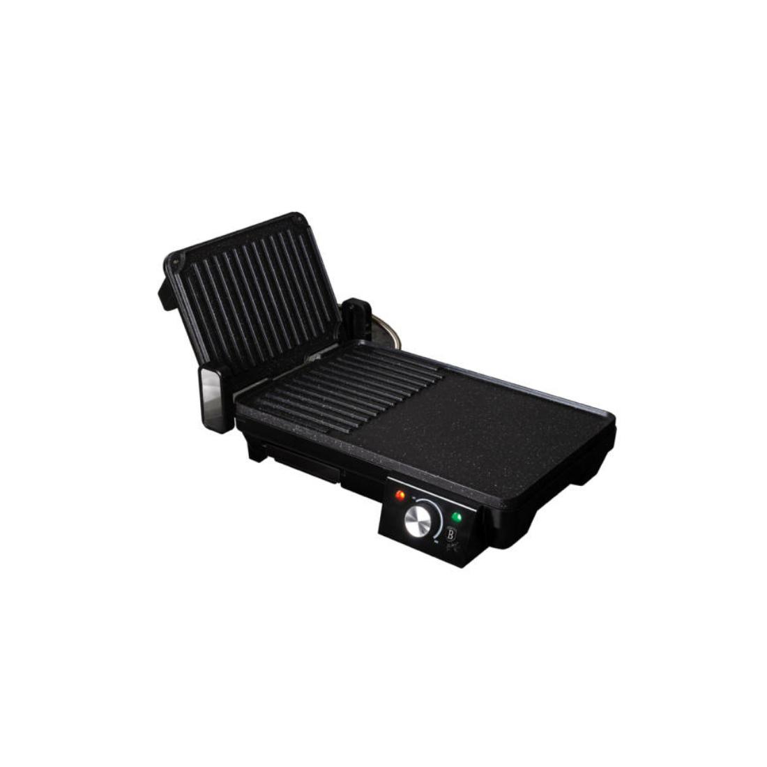 Berlinger Haus Royal Black Collection 2in1 elektromos grill, 2000 W, fekete