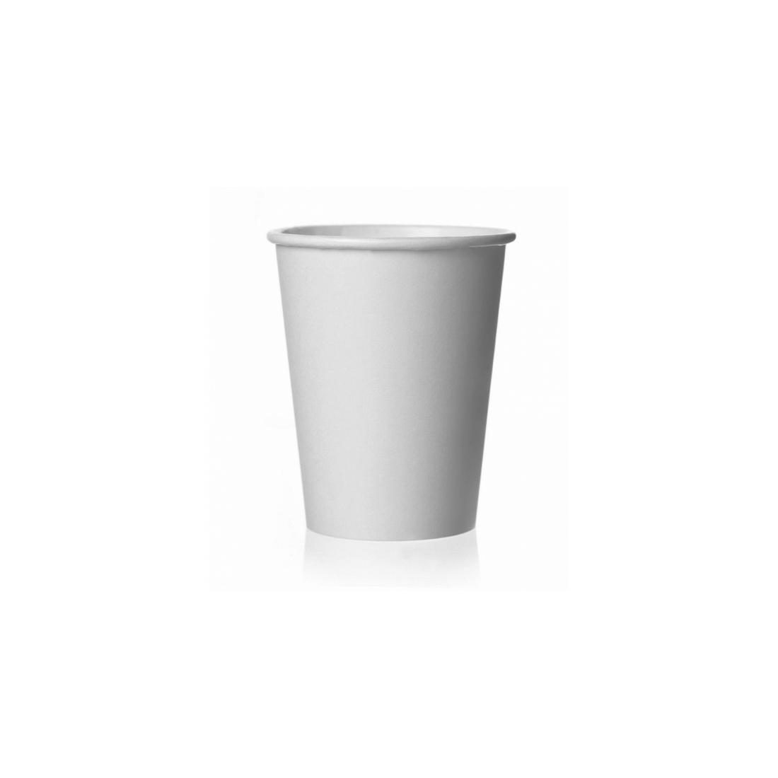 Speciális növényi bevonattal ellátott komposztálható papír pohár 100 ml
