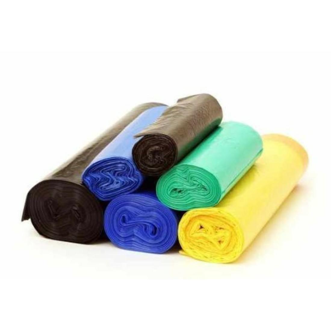Újrahasznosított polietilén szemeteszsák 120L (10 db / csomag)