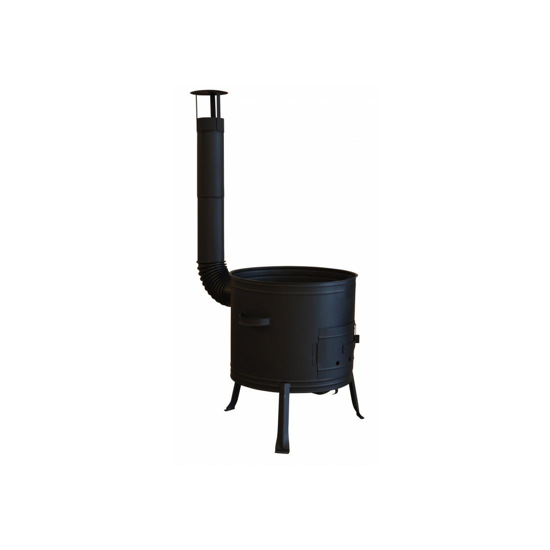 Bográcsház füstcsővel 31 cm