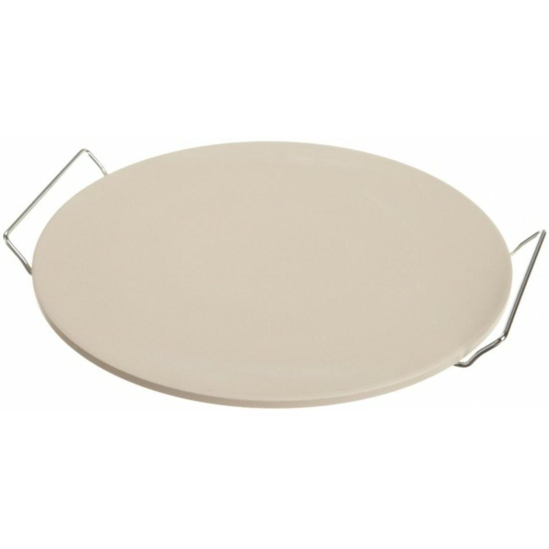 Pizzasütő lap 33 cm állvánnyal
