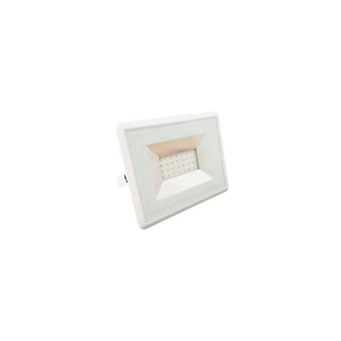 20W Led reflektor SMD E-sorozat fehér színű 6500K