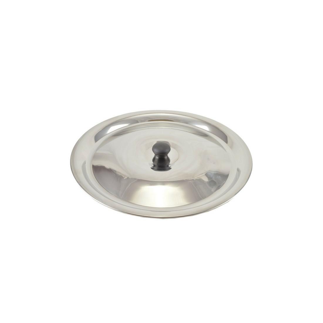 Bográcsfedő inox 10-12 liter