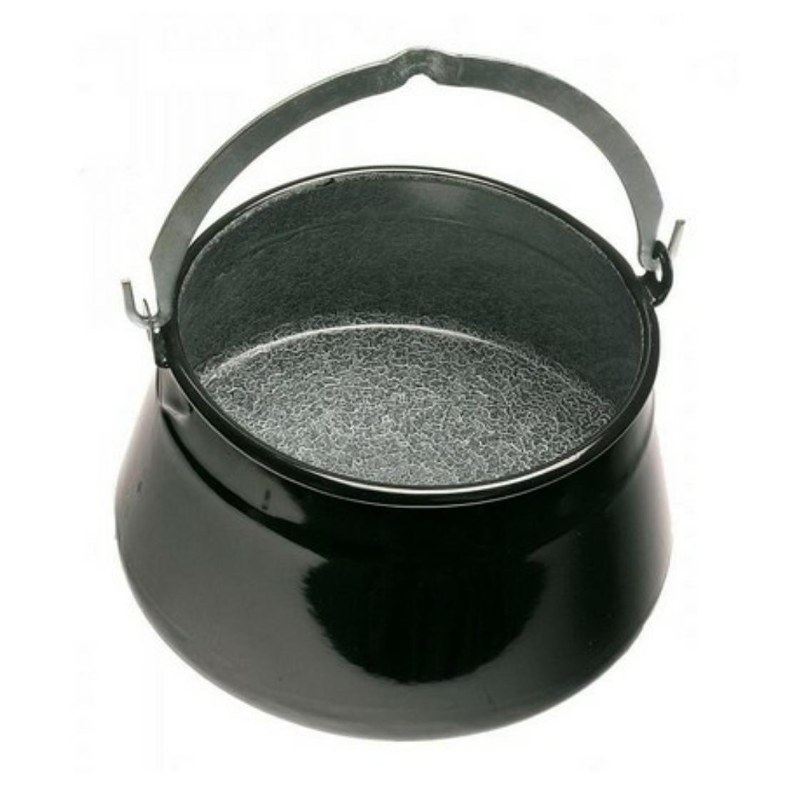 Halfőző bogrács 20 literes vastag bajai 1mm