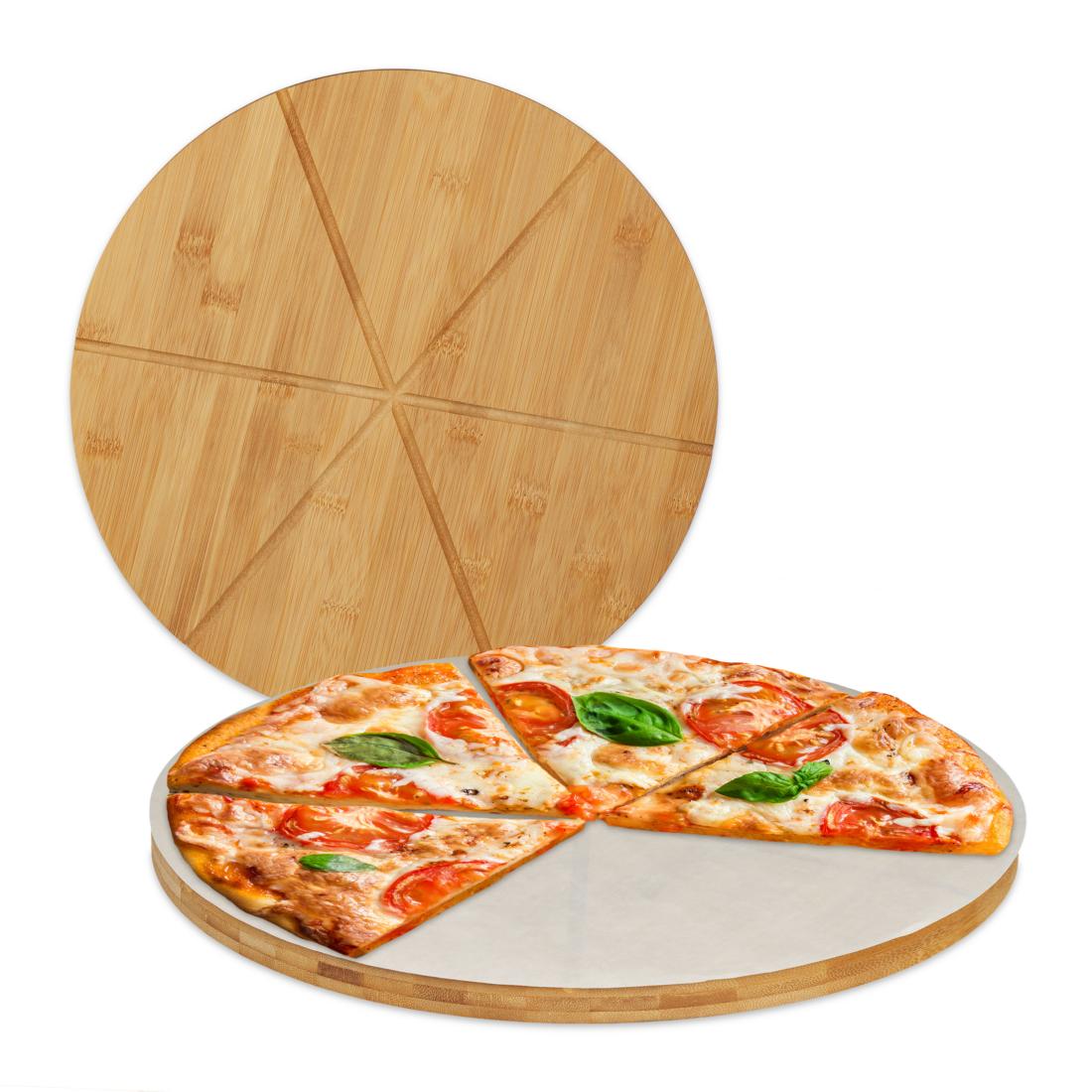 Vágódeszka kerek pizza 32 x 1,5cm