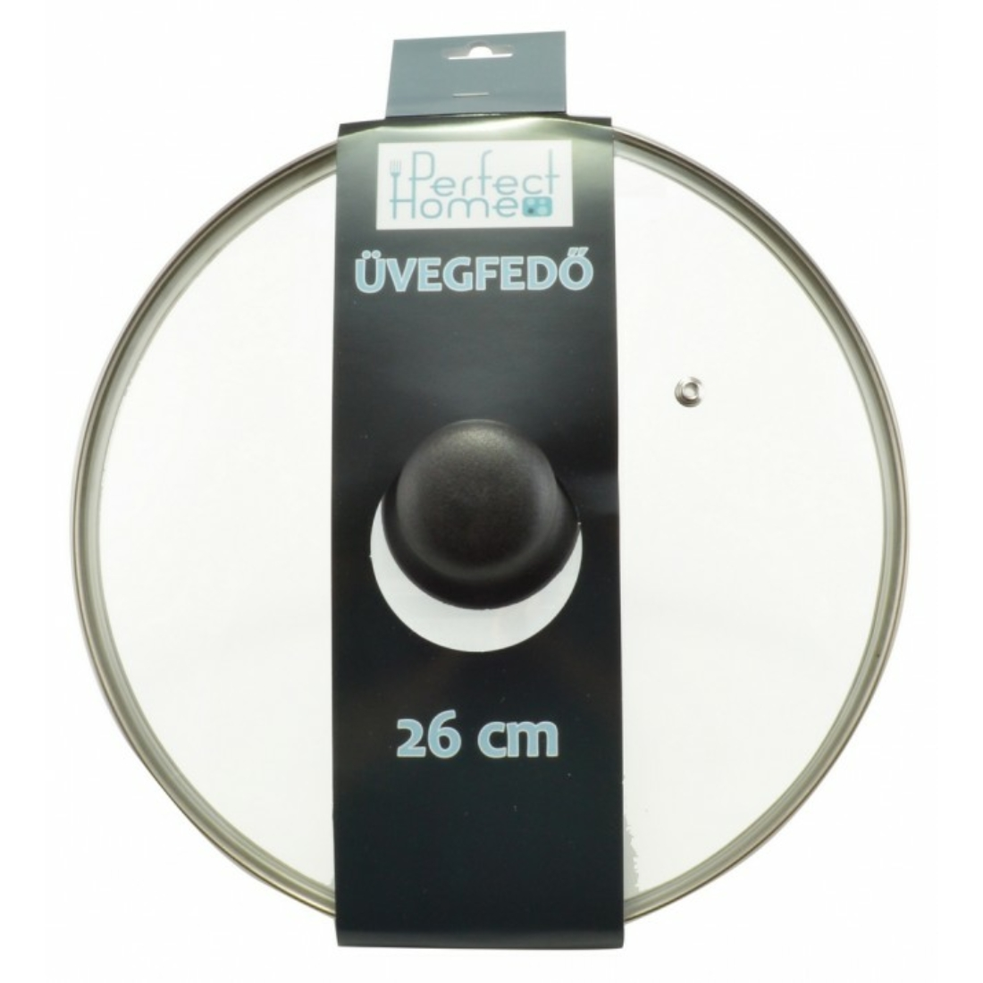 Üvegfedő 26 cm