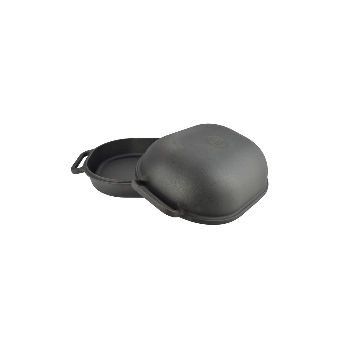 Öntöttvas kacsasütő kúpos fekete
