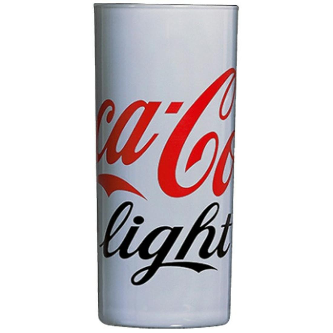 Coca-Cola Light üdítős pohár