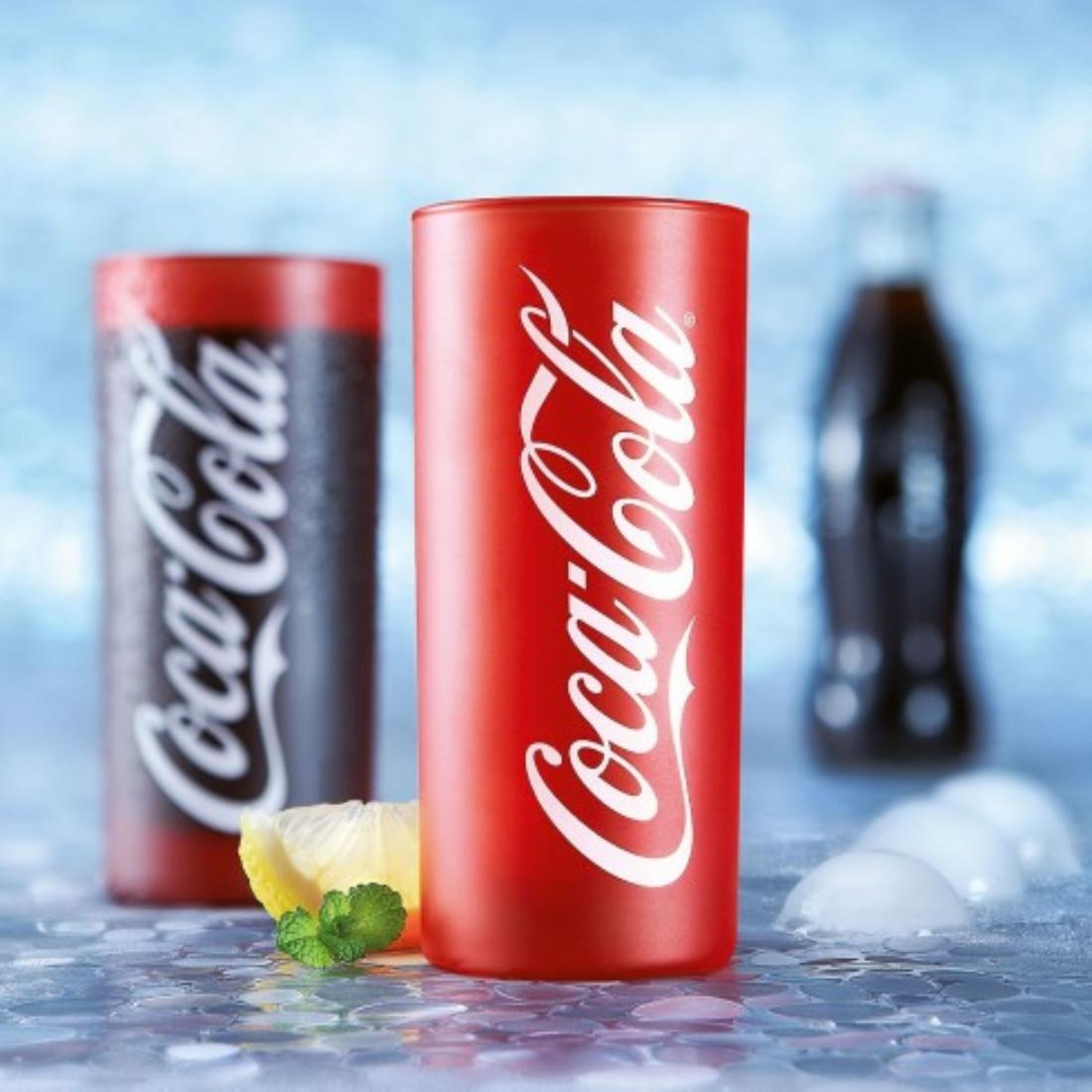 Coca-Cola Frozen Red üdítős pohár