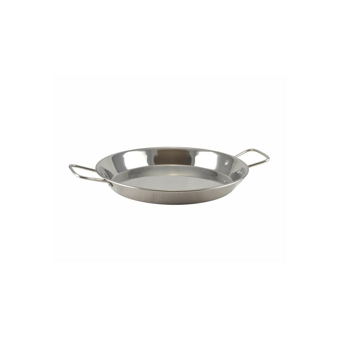 Rozsdamentes paella sütőtál 32 cm