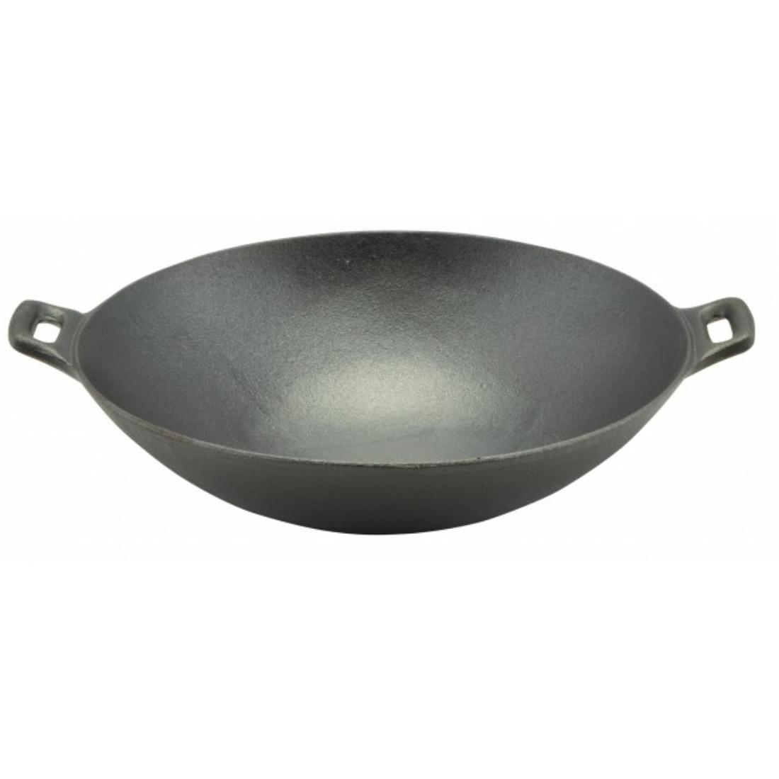 Öntöttvas wok 36.6 cm