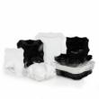 Luminarc Authentic 19 részes fekete-fehér étkészlet