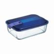 Luminarc Easy Box tégla tároló doboz 22x15x7 cm 197 cl
