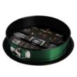 Berlinger Haus Emerald Collection kapcsos kerek tortaforma titán bevonattal, alátéttel, smaragdzöld