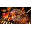 Biol Öntöttvas BBQ grill rács 38cm
