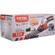 Extol Premium akkus kézi fűnyíró és sövényvágó, 7,2V, beépített Li-ion akku, 1300mA