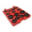 Mar-Pol Olajszűrő szerelő kulcsok, 15 db-os készlet