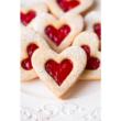 Süti kiszúró rugós szív