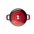La Cuisine Red öntöttvas kerek sütőtál 28cm