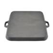Öntöttvas szeletsütő - grill lap 30cm