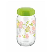 Tároló,  befőttes üveg 1,8 literes