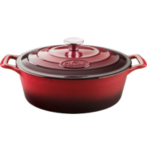 La Cuisine Red öntöttvas kacsasütő 29 cm