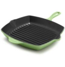Öntöttvas zománcozott grill serpenyő 26,5 cm Green