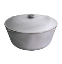 Biol Tatárbogrács öntöttvas 40 literes alumínium fedővel