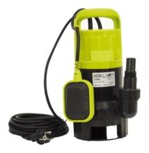 Extol Craft szennyvíz búvárszivattyú, úszókapcsolóval, 550W Extol Craft, szállító teljesítmény: 12m3/h, max. száll. 6 m