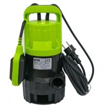 Extol Craft szennyvíz búvárszivattyú, úszókapcsolóval, 400W Extol Craft, szállító teljesítmény: 9m3/h, max. száll. 6 m