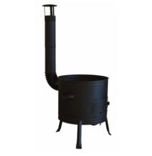 Bográcsház füstcsővel 39 cm