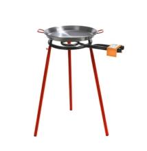 Paella sütő készlet M400 adagos (paella tál + gázégő + állvány)