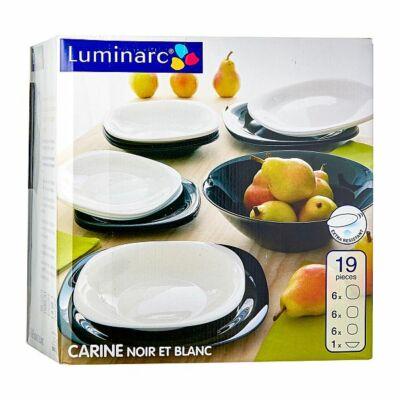 Luminarc Carine B&W 19 részes étkészlet