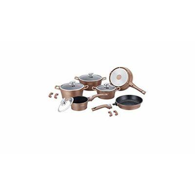 Edénykészlet kerámia bevonatos 14 db-os Copper