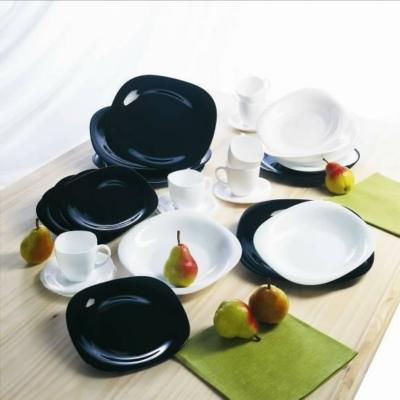 Luminarc Carine Black & White 30 részes étkészlet