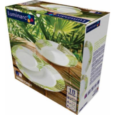 Luminarc Green Forest 18 részes étkészlet
