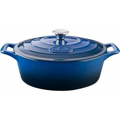 La Cousine Blue öntöttvas kacsasütő 29 cm