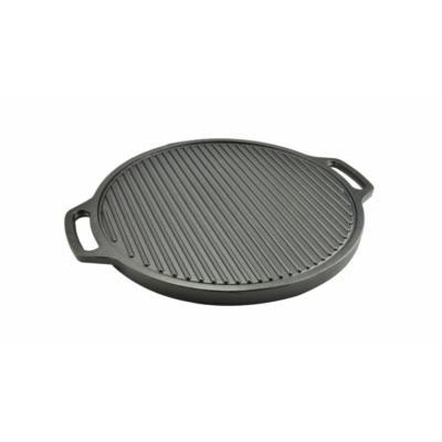 Öntöttvas grill lap kerek 2 oldalas