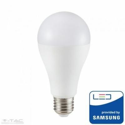 V-TAC LED LÁMPA E27 9W 200° A60 2700K 10 darabos pakk