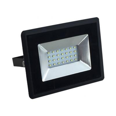10W Led reflektor SMD E-sorozat fekete színű 6500K