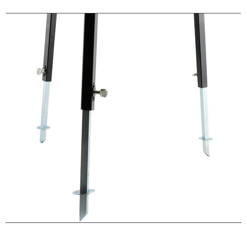 Állítható bográcsállvány tekerős 180/100 cm